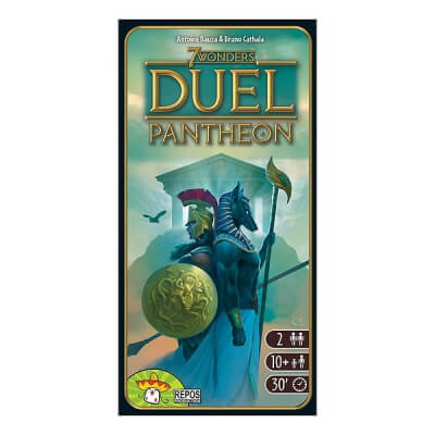 jeu de societe 7 wonders duel pantheon