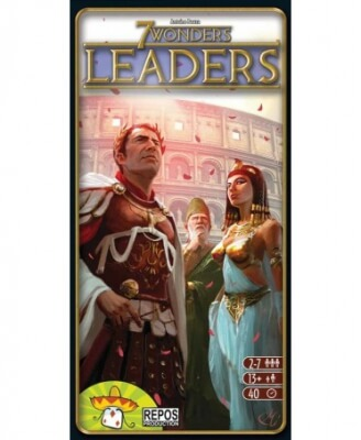 jeu de societe 7 wonders leaders