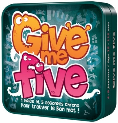 jeu de societe give me five