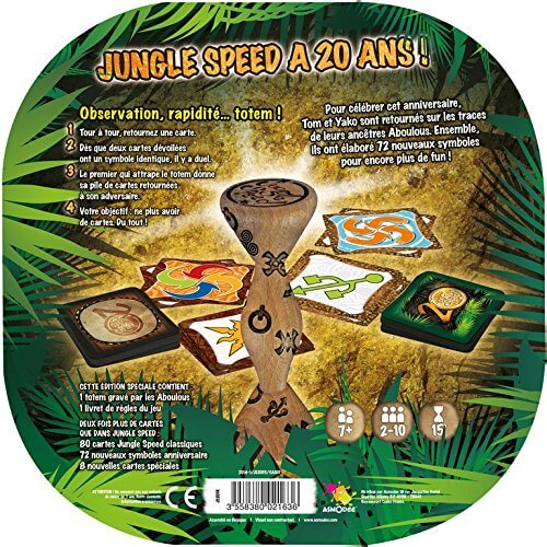 regle jungle speed 20 ans jeu