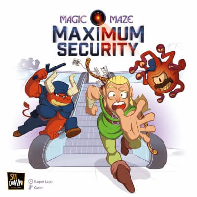 jeu de societe magic maze maximum security