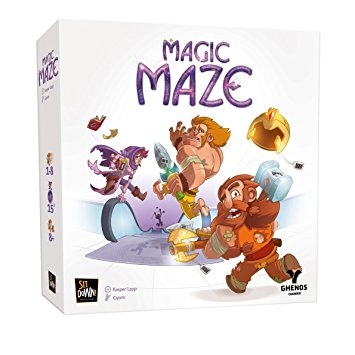 jeu de societe magic maze