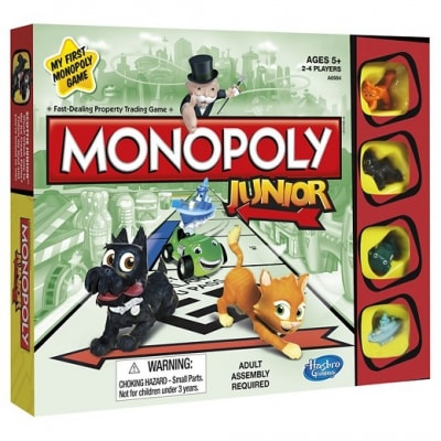 jeu de societe monopoly junior