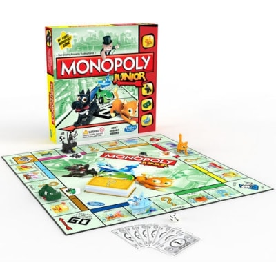 regle jeu monopoly junior